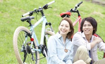 自転車保険用写真