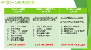 FP永野住宅ローン相談料
